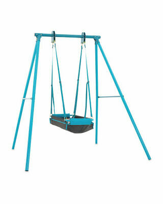 £99 • Buy Childrens Swing Pirate Boat Swing 2 Seat With Frame Childs Garden  Swing Toy