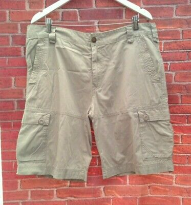 £4.99 • Buy Cargo Style Shorts  By Air Walk Stone Colour Size Large