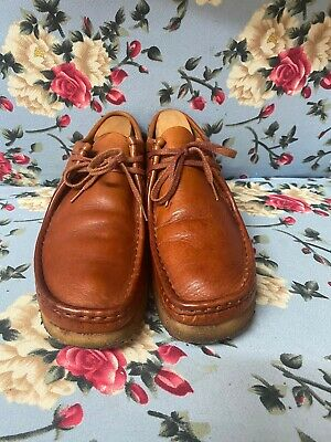 £42 • Buy Mens Clarks Original Wallabee Shoes Brown Size 9G