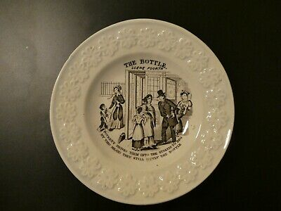 £35 • Buy Pearlware Childs Plate From The Bottle Series C1840
