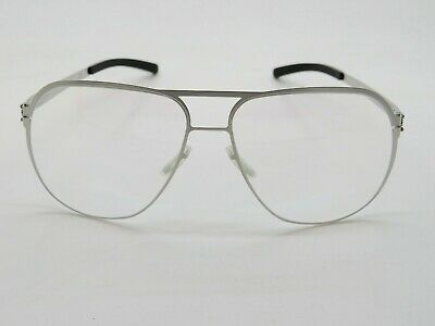 £145.48 • Buy IC BERLIN Guenther N. Silver Pearl Authentic 59mm Eyeglasses