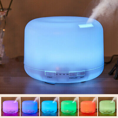 AU23.49 • Buy Electric Air Diffuser Aroma Oil Humidifier USB Night Light Up Home Relax Defuser