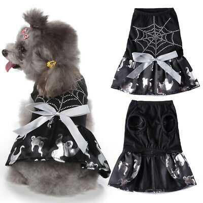 £6.99 • Buy Halloween Puppy Dog Spider Web Fancy Dress Party Costume Outfit Apparel Clothes