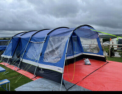 £180 • Buy Hi Gear Oasis 6 Premium Tent And Extension Canopy