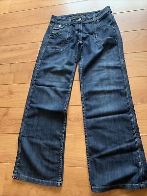 £6 • Buy Ladies Dorothy Perkins Flared Jeans Size 12