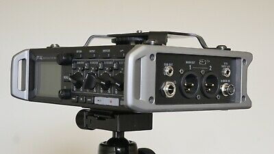 £250 • Buy Zoom F4 Field Recorder With Rode NT1a Microphone And Zoom EXH-6