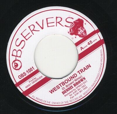 £6.99 • Buy Dennis Brown / Big Youth – Westbound Train / Ride On MINT 7  ROOTS Observers 