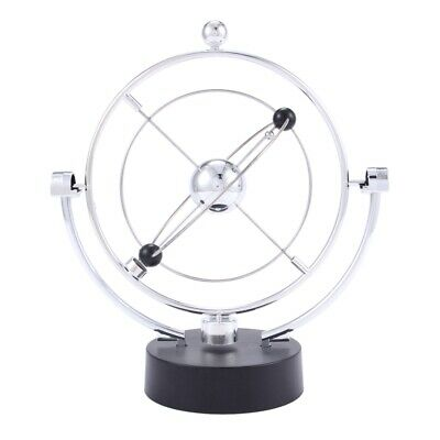 £9.68 • Buy Perpetual Motion Desk Sculpture Toy - Kinetic Art Galaxy Planet Balance Mob T5G6