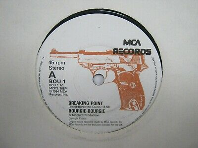 """£3 • Buy Record 7"""" Single Bourgie Bourgie Breaking Point 2775"""