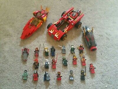 £20 • Buy Lego Ninjago 20 X Minifigures With Accessories And 3 Vehicles