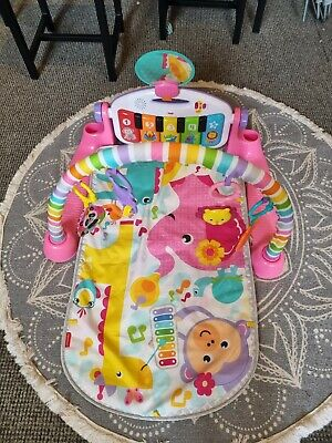£5 • Buy Fisher-Price FWT25 Deluxe Kick And Play Piano Gym