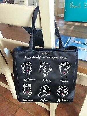 £34 • Buy Lulu Guinness Satin Embroidered  Tote Bag