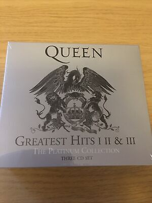 £5.70 • Buy Queen Greatest Hits 1 2 & 3 The Platinum Collection 3 CD Set New
