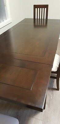 AU100 • Buy Solid Oak Dining Set - Extendable Table 4 Chairs