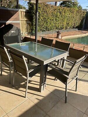 AU300 • Buy Outdoor Dining Table And Chairs X 6