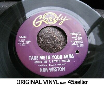 £20 • Buy KIM WESTON 'Take Me In Your Arms' EX Motown Northern Soul 45