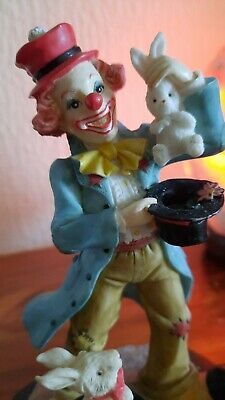 £1.99 • Buy Clown Ornament Circus Clown By Regency Fine Arts, Collectable Figurine.