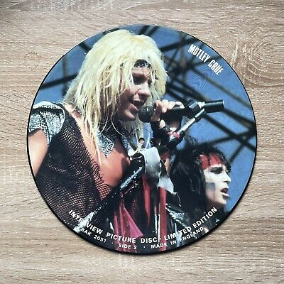 £13.99 • Buy Motley Crue Interview Picture Disc Limited Edition 1984 BAK 2051 Very Rare!!