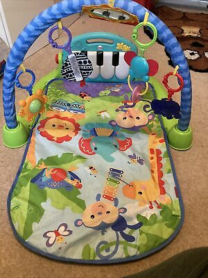 £5.40 • Buy Fisher Kick And Play Piano Gym Baby Play Mat
