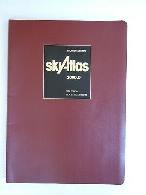 £150 • Buy Sky Atlas Second Edition By Wil Tirion And Roger W. Sinnott