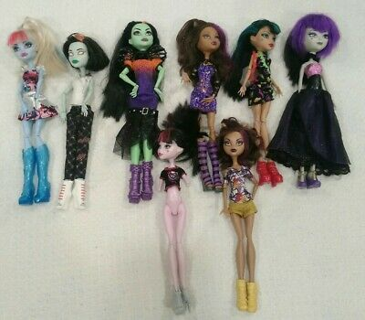 £19.64 • Buy Monster High Doll Lot Used 5 Complete 3 OOAK Parts Reversible Head Zombie