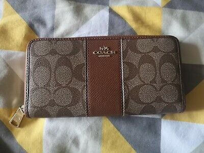 £49.99 • Buy Coach Tan Purse Wallet (Hardly Used) RRP £175