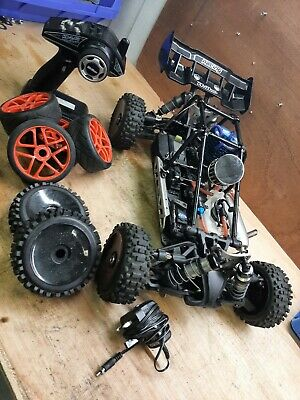 £200 • Buy 1/8 Nitro Rc Car/buggy Hobao Hyper Cage With 💥 LRP 32 Engine 💥 Inc Spares
