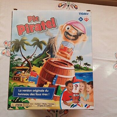 £3.99 • Buy TOMY T7028 Pop-Up Pirate! Action Board Game Toy