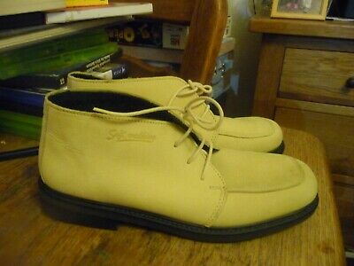 £22.99 • Buy Rohde German Womens Cream Suede Leather Boots Size 4.5