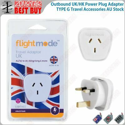 AU16.99 • Buy Outbound UK/HK Power Plug Adapter TYPE G Travel Accessories AU Stock