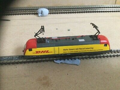 """£145 • Buy Marklin Z Gauge Electric Loco """"DHL"""" DCC Fitted And Working"""