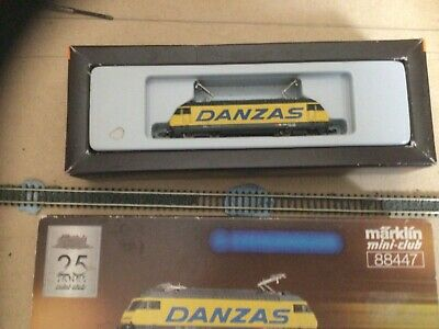 """£155 • Buy Marklin Z Gauge Electric Loco """"DANZAS"""" DCC Fitted And Working"""