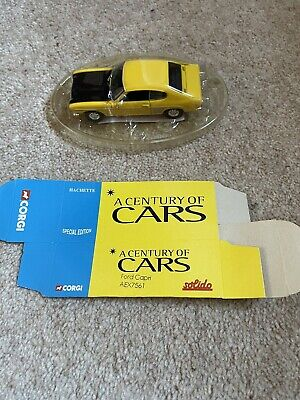 £3.99 • Buy A Century Of Cars Corgi Model Ford Capri AEX7561 Brand New With Box In Packagin