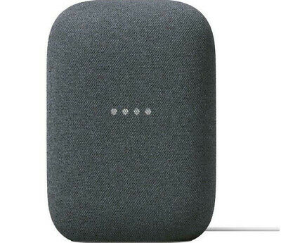 AU112.76 • Buy GOOGLE Nest Audio Smart Speaker With Google Assistant Charcoal Tracked Post New