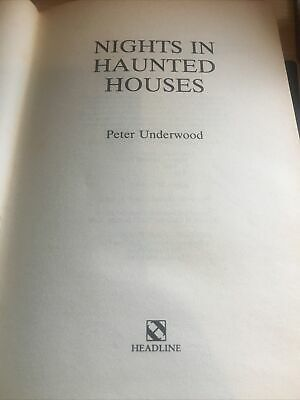 £0.99 • Buy Nights In Haunted Houses By Underwood, Peter Hardback Book. First Edition. Rare!
