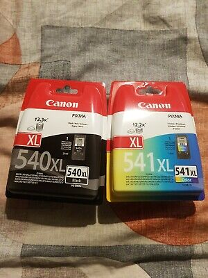 £30.80 • Buy Canon PG-540XL CL-541XL High Capacity Ink Cartridge Multi-Coloured Pack