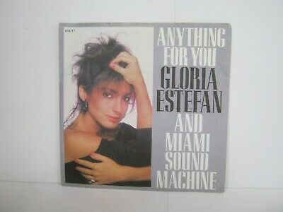 """£3 • Buy 7"""" Single Gloria Estefan Anything For You 4187"""