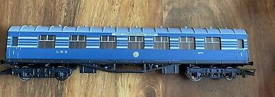 £25 • Buy Hornby OO Blue LMS Composite Coach Coronation Scot 1071