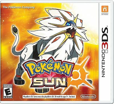 $22.99 • Buy Pokemon Sun Nintendo 3DS Game (2016) Complete With Original Case Working-Tested