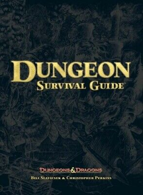 AU29 • Buy Dungeon Survival Guide (Dungeon & Dragons D20 3.5 Fantasy Roleplaying)