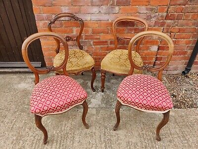 £60 • Buy Antique Walnut Chairs
