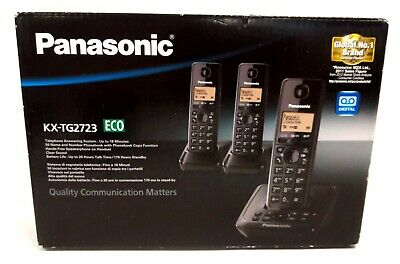 £9.99 • Buy Panasonic Telephone Answering System With 3 Handsets - Boxed