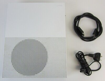 AU61 • Buy Microsoft Xbox One S 1tb White Console 1681 With Cables