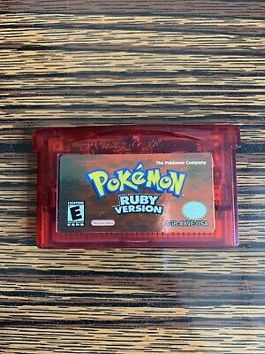 $70 • Buy Pokemon: Ruby Version - Authentic -Game Boy Advance-Tested- Dry Battery - READ