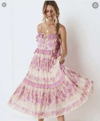 AU205 • Buy Spell & The Gypsy Exclusive Coco Lei Strappy Dress Lilac