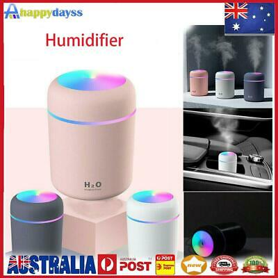 AU15.59 • Buy 300ml Electric Air Diffuser Aroma Oil Humidifier USB Night Light Up Home Defuser