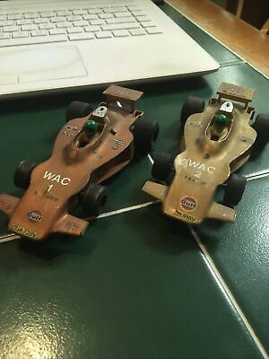£2.99 • Buy 2 X Vintage Scalextric F1 Cars. Formula One.  For Repair Or Spares