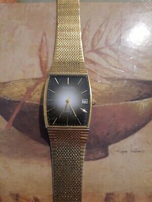 £4.99 • Buy Mens Accurist Wristwatch Gold Coloured ##