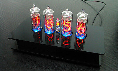 £1.20 • Buy Nixie Tubes Clock With 4 Pieces IN-14 Tubes With RGB Backlight Alarm And Chimes