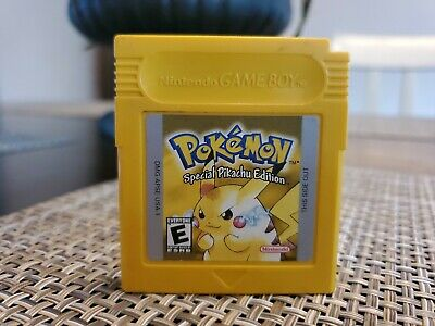 $17.50 • Buy Authentic Pokemon Yellow Special Pikachu Edition Game For Nintendo Game Boy